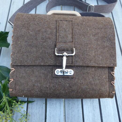 Aggi Varnholt, Holztasche , Taschenmanufaktur