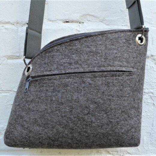 Filzdesign, Taschenmanufaktur,Aggi Varnholt, Tasche Elefant M, Taschenmanufaktur