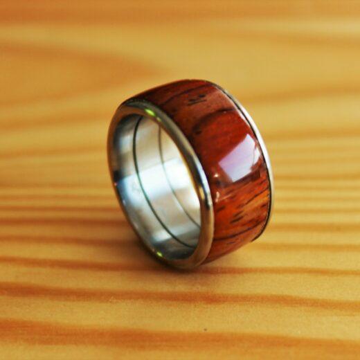 Uwe Witte Ring Gr. 60 Cocobolo