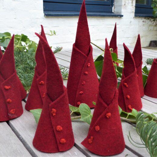 Weihnachtswichtel, Aggi Varnholt, Filzdesign, Taschenmanufaktur