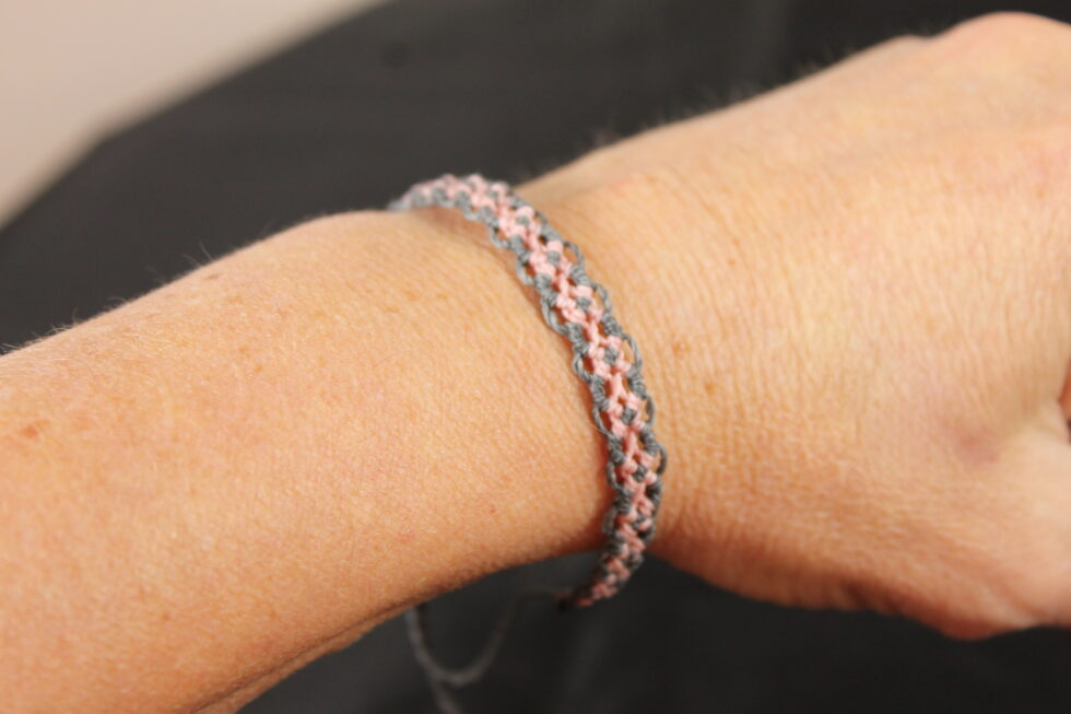 Svenja Barembruch Schmuck Mikromakramee Armband