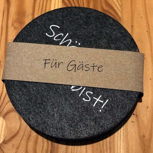 Untersetzer, Filz, Karin Schleiermacher